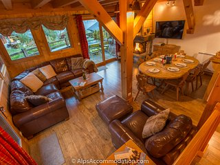 Chalet Ambregales - Hot tub, Sauna, log fire and Fantastic Views