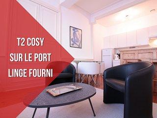 4 PERS + PORT DE VANNES + LINGE FOURNI