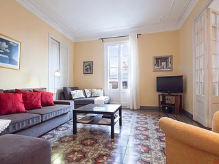 Apartment in Barcelona with Lift, Internet, Balcony, Washing machine (10725)