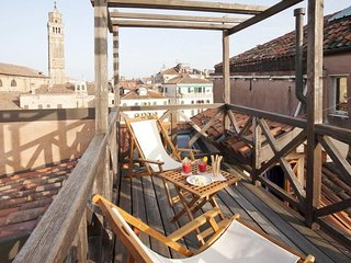 Spacious apartment in the center of Venice with Internet, Washing machine, Terra