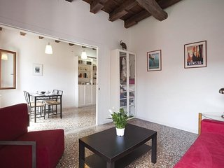 Apartment 639 m from the center of Venice with Terrace, Washing machine (360621)
