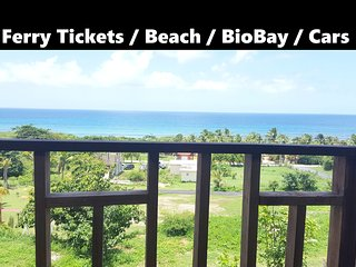 Ocean View & Beach house up to 13! Car avaliable, Isabel Segunda
