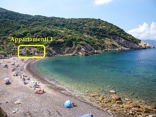 Bilocale sulla spiaggia, Isola d'Elba