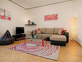 Spacious apartment close to the center of Prague with Lift, Internet, Washing ma