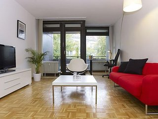 Studio apartment in Berlin with Internet, Lift, Terrace, Washing machine (379694