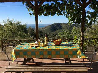 Finca Tita beautiful holiday retreat, secluded  with fantastic sea view.