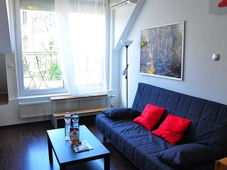 Apartment in Budapest with Terrace, Air conditioning, Lift, Parking (390605)