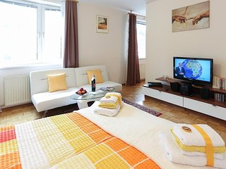 Studio apartment in Vienna with Terrace, Washing machine (397485), Wenen