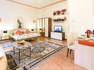 Cosy studio in Vienna with Internet, Washing machine, Air conditioning, Terrace