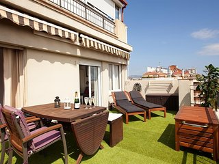 Apartment in Barcelona with Terrace, Air conditioning, Lift, Washing machine (410941)