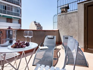 Apartment in Barcelona with Terrace, Air conditioning, Lift, Internet (442161)