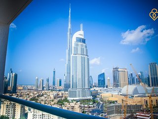 Apartment 890 m from the center of Dubai with Internet, Pool, Air conditioning,
