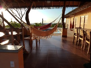 Sunset Villa, Playa Guiones, Nosara. Stunning view