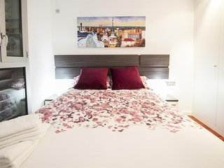 Apartment in Barcelona with Air conditioning, Lift, Parking, Washing machine (456975), Barcellona