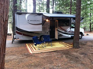 Experience Yosemite in a Beautiful Class C RV!