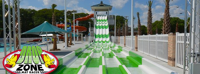 Drop Zone Mat Racer Slides