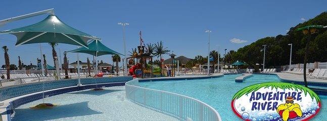 Brand new water park and lazy river
