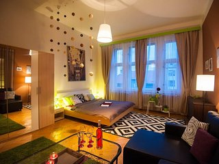 Apartment in the center of Prague with Lift, Balcony, Washing machine (498686)