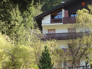 Top floor one-bedroom apartment, Champoluc