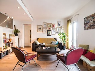 Apartment 1.1 km from the center of Paris with Washing machine (530898)