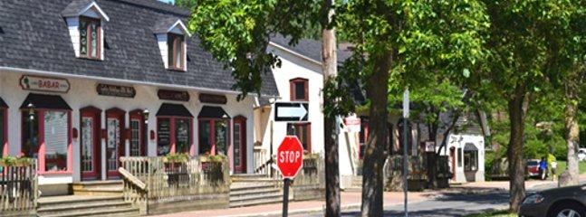 Restaurant in village