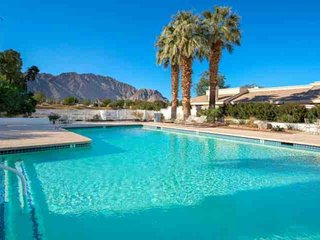 PGA West TPC Stadium Home with Course & Mountain Views, Golf Cart and Pool/Spa A
