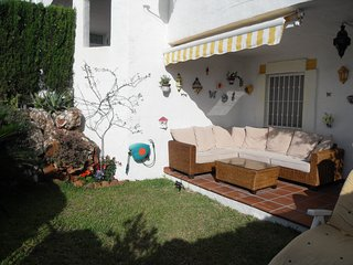Garden apartment on costa del sol