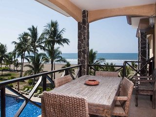 Gorgeous 2 bed, 2 bath, 3rd floor, two private balconies, pool & ocean views!