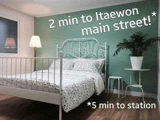 3bd at the center of Seoul's hottest neighbourhood
