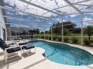 Private Disney Villa, South Facing Pool, Game Room & Green Views. Sweet Privacy!