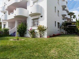 Jardín de uso privado que rodea el apartamento