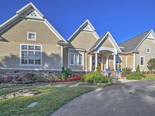Luxury 5BR Branson Area Home w/ Pool & Lake Views!