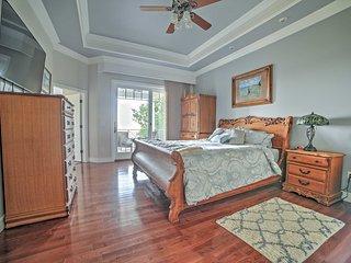 Luxury 5BR Branson Area Home w/ Pool & Lake Views!