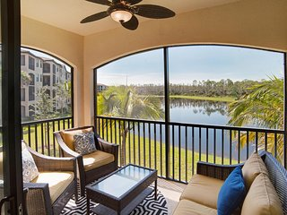 Available for 2017 Season - 2BR/2BA Condo TPC Golf, Napels