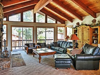 NEW! 5BR Tahoe City Home w/Fireplace & Scenic Views