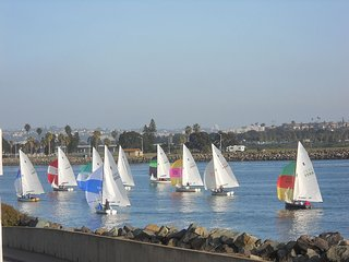 Views Of Mission Bay Channel & Ocean, San Diego