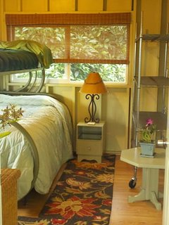 makai bedroom with twin and double bunk bed