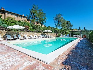 2 bedroom Apartment in Montaione, Tuscany, Italy : ref 5055464