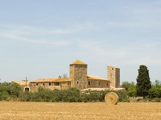 Exquisite Rustic Medieval Fortified Castle of Vallgornera, Peralada