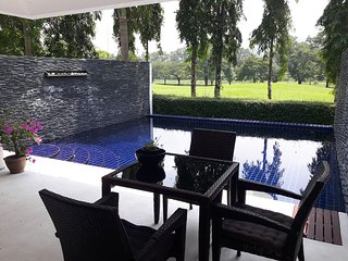 5 bed golf villa, private pool 10 min Patong beach. Sleeps 12 persons.