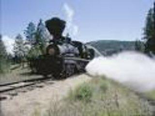 tren de vapor valle de la caldera está a minutos de la casa.
