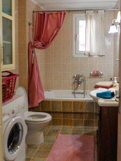 bathroom in autumn