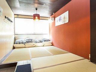 Namba 2min FamilyHouse #4 NOB52, Osaka