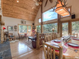 Ski in/out Genuine Montana Mountain Home