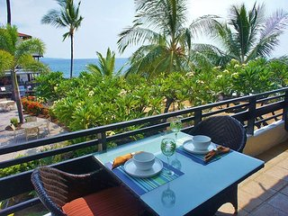 Remodeled! Oceanfront Forever Views Deluxe 920 Qs Ft Casa 237, Kailua-Kona