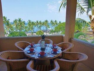 Third Floor Penthouse, AC, Excellent Views of Ocean and Mt. Hualalai, Kailua-Kona