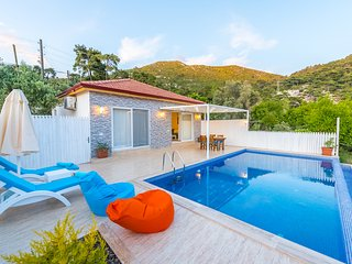 1 Bedroom luxury honeymoon, secluded pool private villa, Villa Balci Kalkan