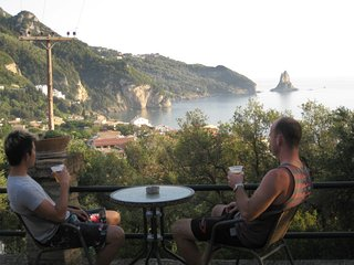 Sea view studio for 2 people, Agios Gordios