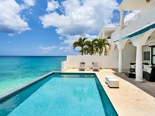 FARNIENTE...Water Front Villa, Elegant, Luxurious, Totally Secure, private access to Cupecoy Beach!, St. Maarten/St. Martin
