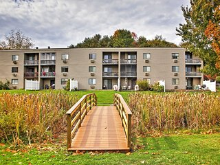 2BR Laconia Condo w/Lake Views & Pool Access!